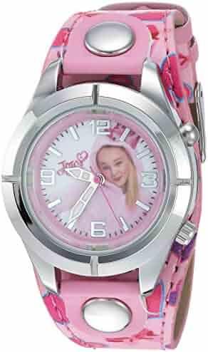Jojo Siwa Girl's Quartz Metal Casual Watch, Color:Pink (Model: joj5003)