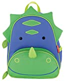 Skip Hop Zoo Toddler Kids Insulated Backpack Dakota Dinosaur Boy, 12 inches, Green
