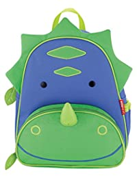 Skip Hop Zoo Pack Little Kid & Toddler Backpack, Dakota Dinosaur