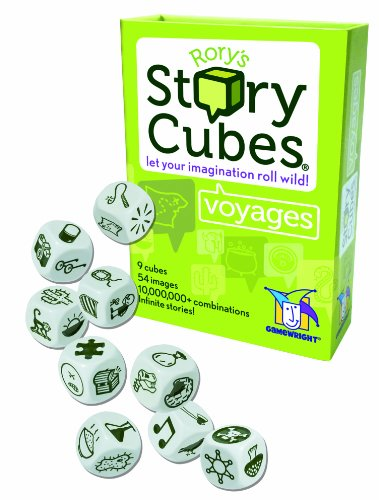 Gamewright Rorys Story Cubes Voyages