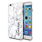 Personalised Marble Hard Phone Case Cover Initial Text Name For Apple iPhone 5/5s