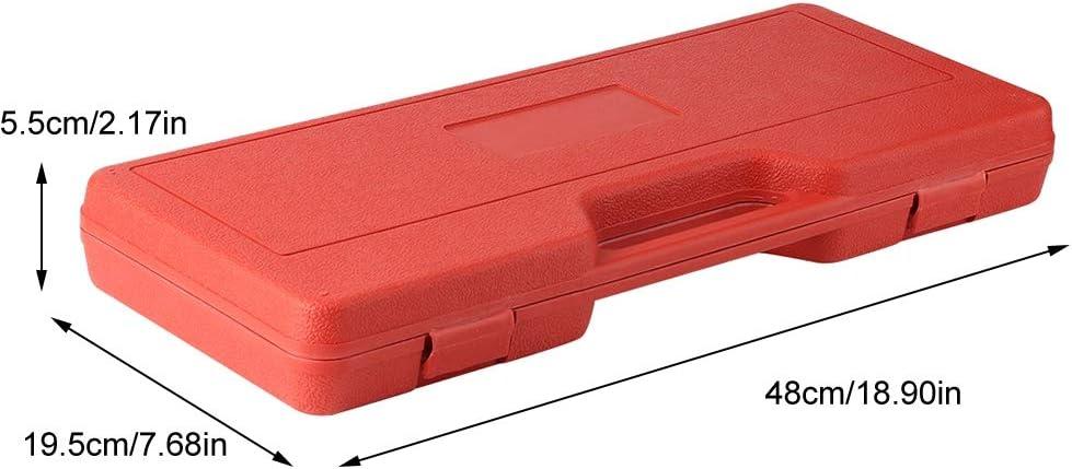 Qiilu Auto Repair Tool 20 Pieces Camshaft Crank Camshaft Oil Seal Remove Installation Tool Set Crankshaft Oil Seal Tool