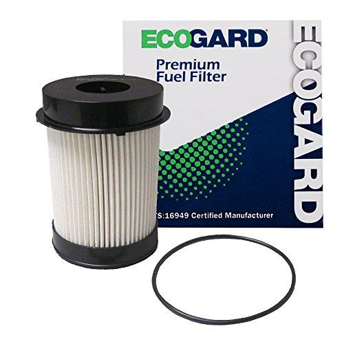 ECOGARD XF10309 Diesel Fuel Filter - Premium Replacement Fits Ram 2500, 3500, 4500, 5500 / Dodge Ram 2500, Ram 3500, Ram 4500, Ram 5500