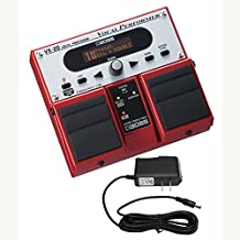 Boss VE-20 Vocal Performer Effects Pedal & PigHog PP9V PowerPig 9V DC 1000ma Power Supply Bundle