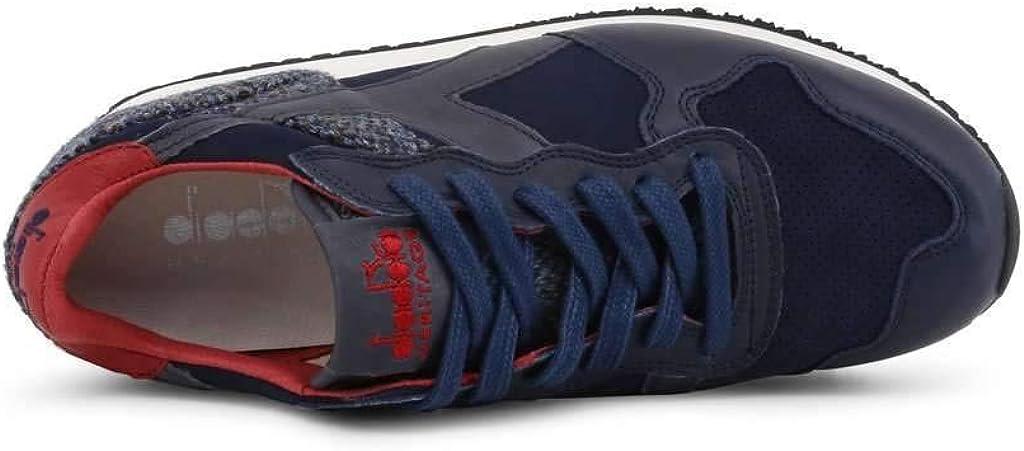 Diadora Heritage Trident Men Blue Sneakers