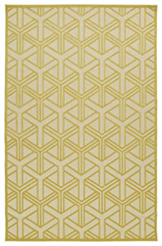 Kaleen Rugs Five Seasons Collection Gold Rug (2'1 x 4')