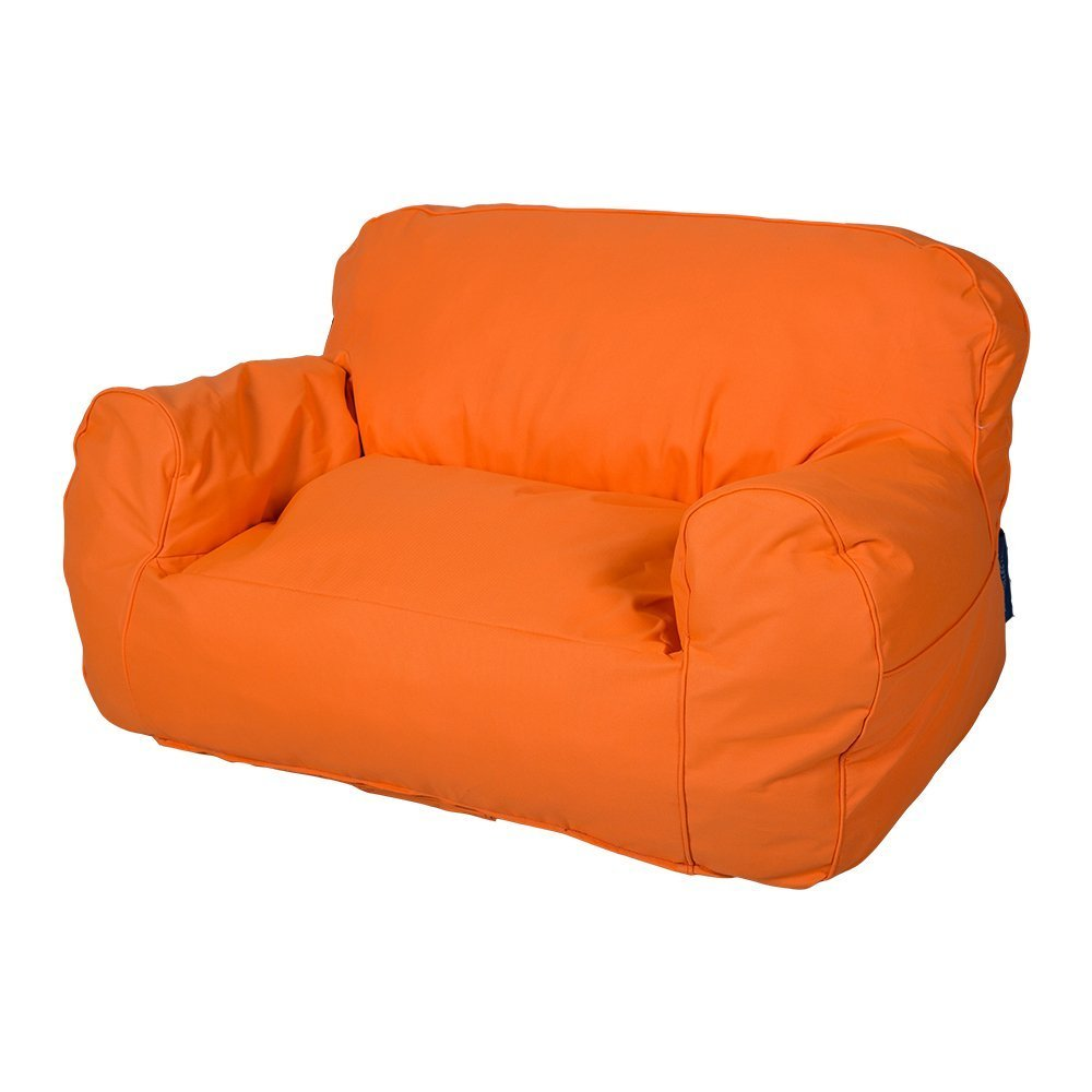 Livebest Soft Self-Rebound Sponge Double Kids Lounger Sofa Bean Bag Chair Seat Available for Boys and Girls,Bright Color