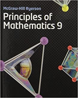 Mhr principles of mathematics 9 exercise and homework book: mary.