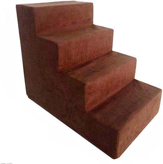 XRFHZT Escalera para Mascotas Perro Gato Escalera Lavable Esponja Escalera Cama Trepadora Trepadora: Amazon.es: Hogar