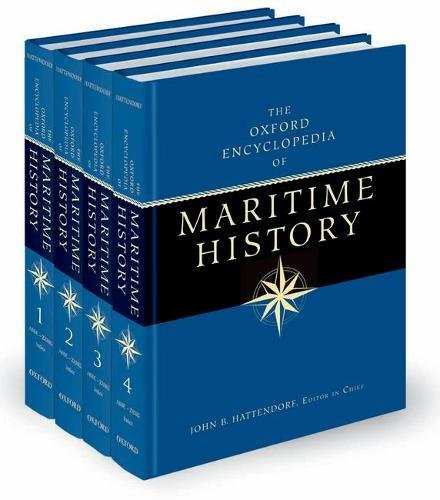 Best! The Oxford Encyclopedia of Maritime History (set of 4 volume )<br />[P.P.T]