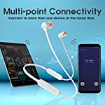 JBL Tune 115BT by Harman in-Ear Wireless Headphones with Deep Bass, 8-Hour Battery Life and Quick Charging (White)