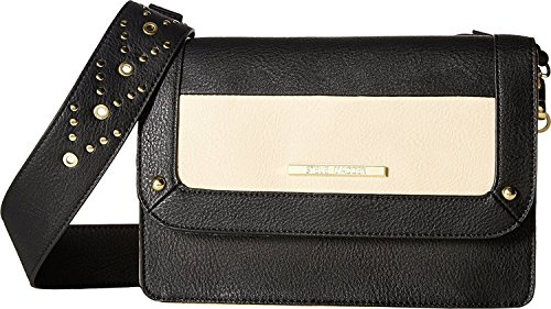 Steve Madden Women's Bsammie Shoulder Bag Black/Bone Handbag