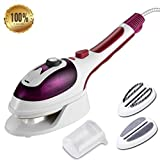 EVERFLOWER Protable Handheld Garment Steamer, Iron Steamer, portable steam iron Household Steamer for Clothes