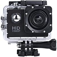 Fabal Mini 1080P Full HD DV Sports Recorder Car Waterproof Action Camera Camcorder (Black)