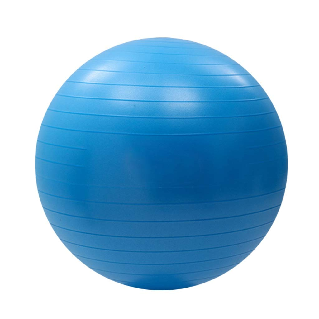 Thickened Anti-Burst Anti-Slip Exercise Ball Yoga Ball Pregnancy Beginner Pilates Ideal Yoga Pilates Birthing Therapy Available in Three Sizes 55/65/75cm