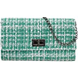 Best b.m.c Shoulder Bags - BMC Womens Woven Style Soft Yarn Texture Clutch Review