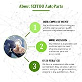 SCITOO Keyless Entry Remote Flip Key FOB Shell