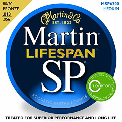 Martin MSP6200 Acoustic Guitar Strings by C.F. Martin & Co.
