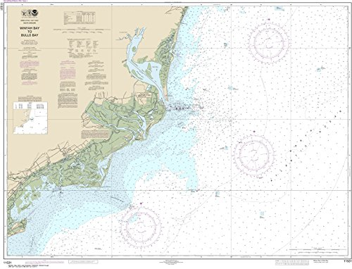 (MapHouse NOAA Chart 11531 Winyah Bay to Bulls Bay: 34.61