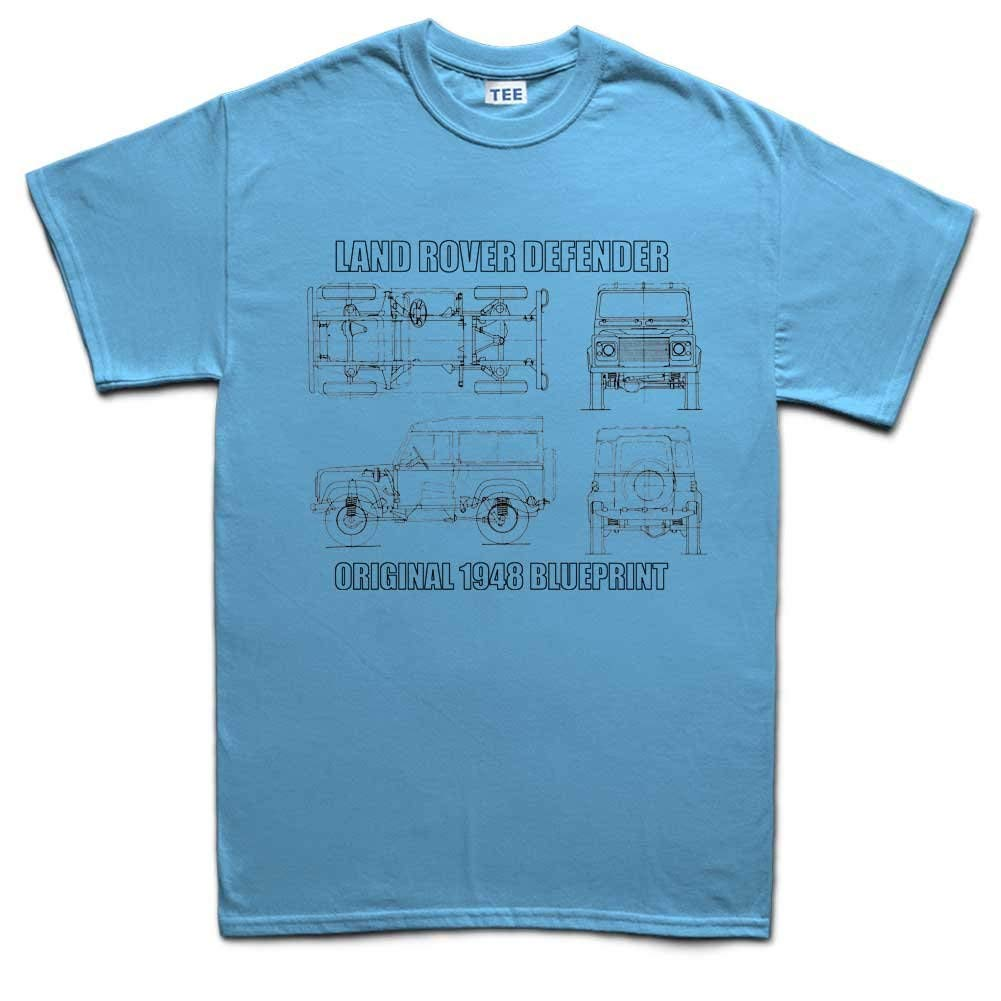 Top T Land Rover Defender S Round Neck Casual T Shirt 2537