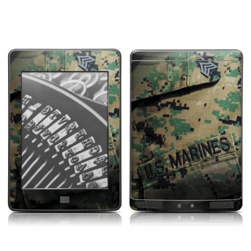 Amazon com: DecalGirl Kindle Touch Skin - USMC Courage (does not fit