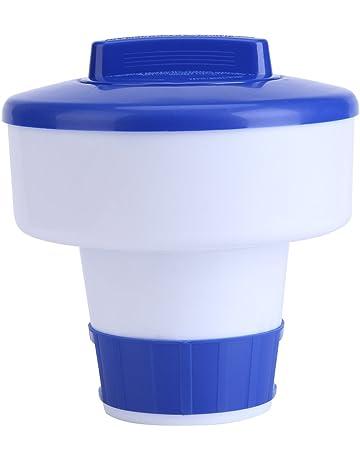 Dispensador cloro flotante, Dispensador químico, Flotador de cloro para piscinas y spa, Kits