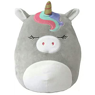 Squishmallow Kellytoy Valentine Edition Teresa The Unicorn 12 Inch: Toys & Games