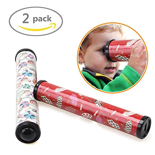 Johouse Kids Toy Magic Kaleidoscope Best Gift for Party Favor, 8 Inch, 2 PCS