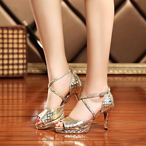Heel 5cm Donna 8 Gold Ballroom Minitoo wxXq17x