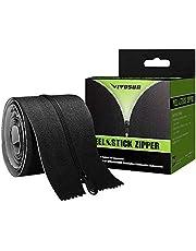 VIVOSUN One Pack Heavy Duty Peel & Stick Zipper for Dust Barriers 7ft x 3inch