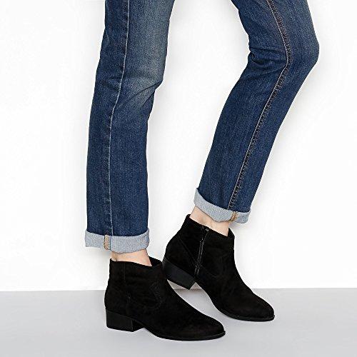 Debenhams Mantaray Womens Black Suedette 'Maggie' Ankle Boots nmTjVtEoT