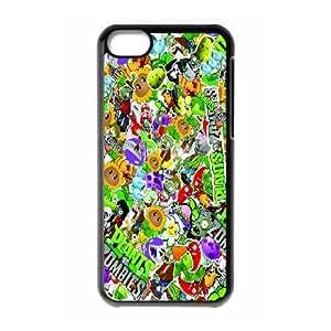 Plants vs. Zombies DIY case For phone Case iPhone 5C Q1W783206