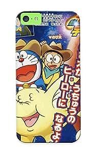 Fashionable Ocqxhz-25-wxqohin Iphone 5c Case Cover For Doraemon The Movie 2009 Telebikun 04 Protective Case With Design