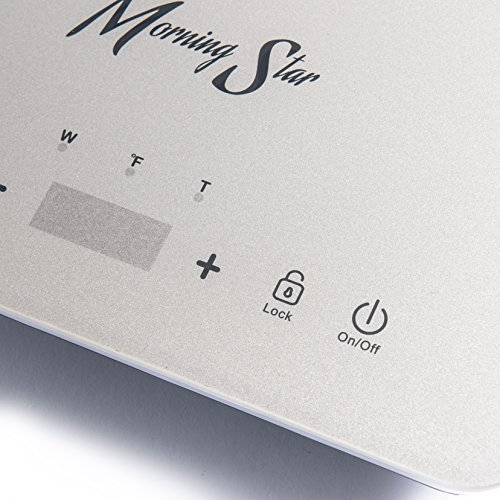 Morning Star MS-151 Induction Cooktop, Portable Countertop Burner, Ultra-Thin Design, Rapid Heat Technology, Auto-Pan Detection, Sleek Metallic Silver Color by Morning Star (Image #5)