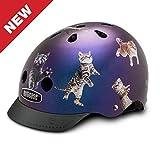 Nutcase - Patterned Street Bike Helmet, Fits Your Head, Suits Your Soul
