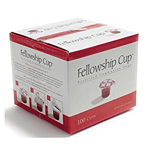 00ba03dc4d8b0 B&H Publishing Group Fellowship Cup,Prefilled Communion Cups  juice/wafer-100 Cups (net wt.1.62 lb) by BROADMAN Church Supplies