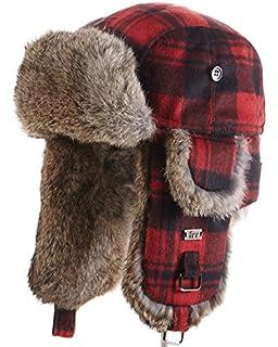 frr B-52 Aviator Hat with Rabbit Fur at Amazon Men s Clothing store  970995db0277