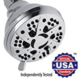 Tools & Hardware : AquaDance High-Pressure 6-setting 3.5-inch Shower Head for the Ultimate Shower Spa Experience! / Officially Independently Tested to Meet Strict US Quality & Performance Standards