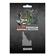 onXmaps HUNT Idaho: Digital Hunting Map For Garmin GPS + Premium Membership For Smartphone and Computer - Color Coded Land Ownership - 24k Topo - Hunting Specific Data