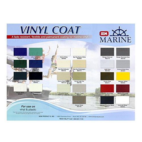 SEM Vinyl Coat Marine Series Color Guide