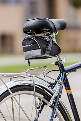 Schwinn Seat Post Bag with Reflective Strip