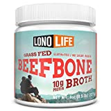 LonoLife Grass-Fed Beef Bone Broth Powder with 10g Protein, 8-Ounce Bulk Container Review