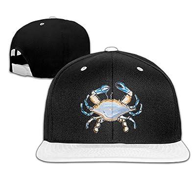 Rock Punk Trucker Hats Great Sea Crab Unisex Baseball Caps Hip-hop Snapback White