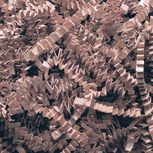 Cocoa Crinkle Cut Paper Shred 10 lbs/Case by JC Danczak
