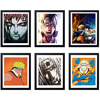 Amazon.com: HYD Art Legend of Ninja Kakashi Jiraiya Akatsuki ...