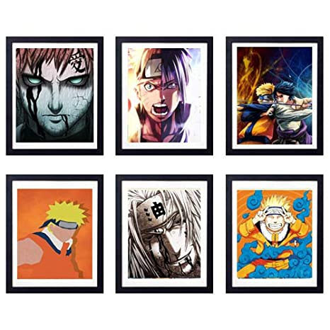 Amazon.com: MS Fun League of Ninja Japanese Anime Art Prints ...