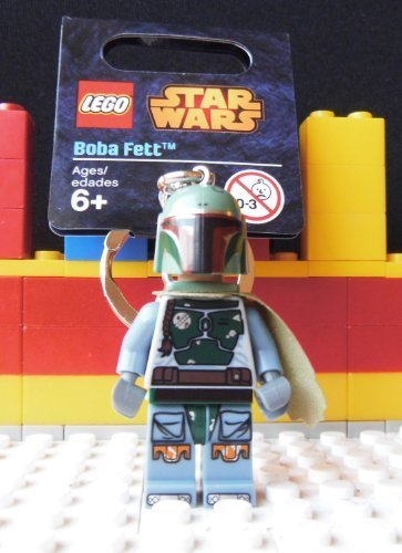 LEGO Star Wars: Boba Fett Keychain (Lego Star Wars Keychain Boba Fett)