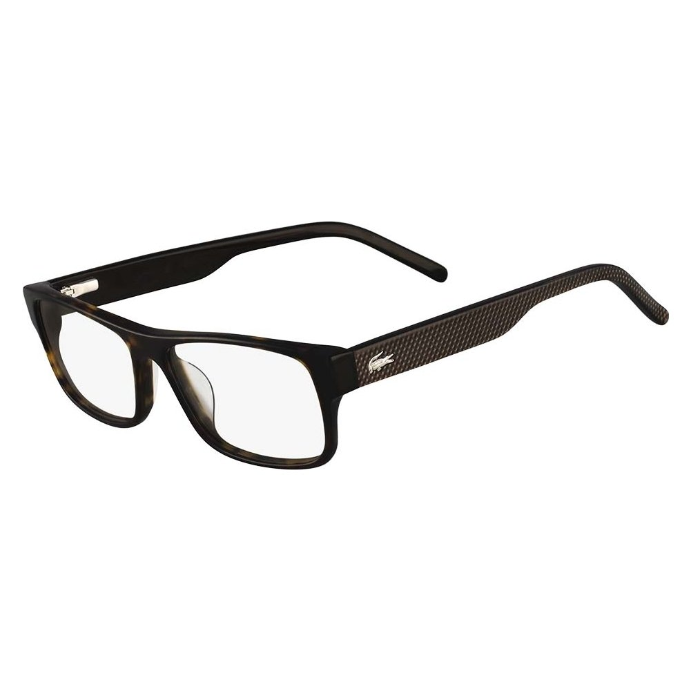 34866b3d2633 LACOSTE Eyeglasses L2660 214 Havana 55MM at Amazon Men s Clothing store   Prescription Eyewear Frames