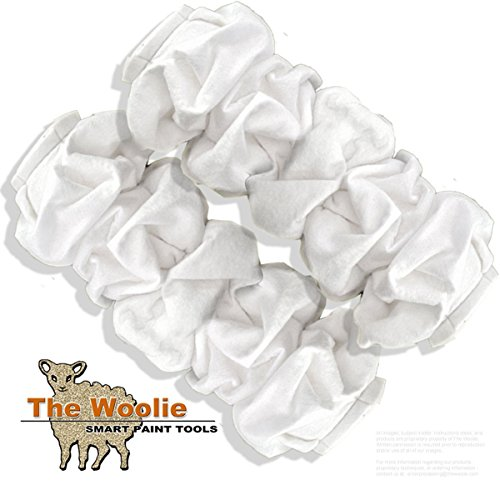 Venetian Plaster Faux Finish (Rag Painting Roller Faux Finish Painting Technique Roller Value 2 Pack by The Woolie)