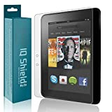 Amazon Kindle Fire HD 7' Screen Protector, IQ Shield Matte Full Coverage Anti-Glare Screen Protector for Amazon Kindle Fire HD 7' (2012) Bubble-Free Film - with